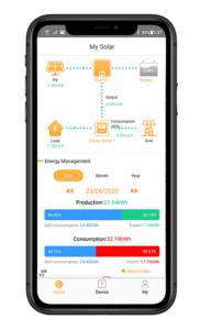 App de monitorización