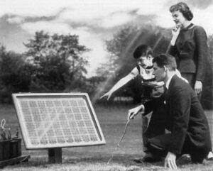 Placas solares 1950