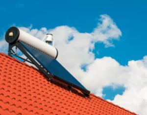 panel solar térmico de placa plana