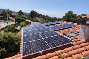 Instalación fotovoltaica en Sant Cugat