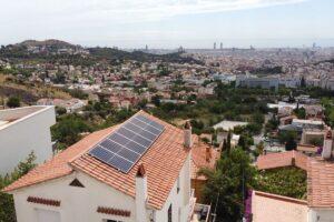 Instalación fotovoltaica en Barcelona