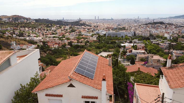 Instalación de placas solares en Barcelona