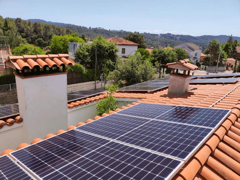 Instalación fotovoltaica en Sant Cugat del Vallès