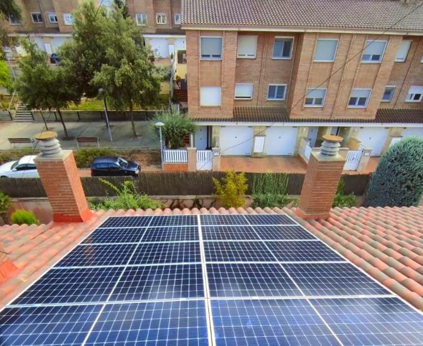Instalación placas solares en Sant Quirze del Vallès